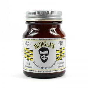 Morgans vosk na bradu a fúzy je vosk na bradu a fúzy od tradičnej anglickej značky Morgan's, ktorý tvojej brade a fúzom dodá potrebný štýl.