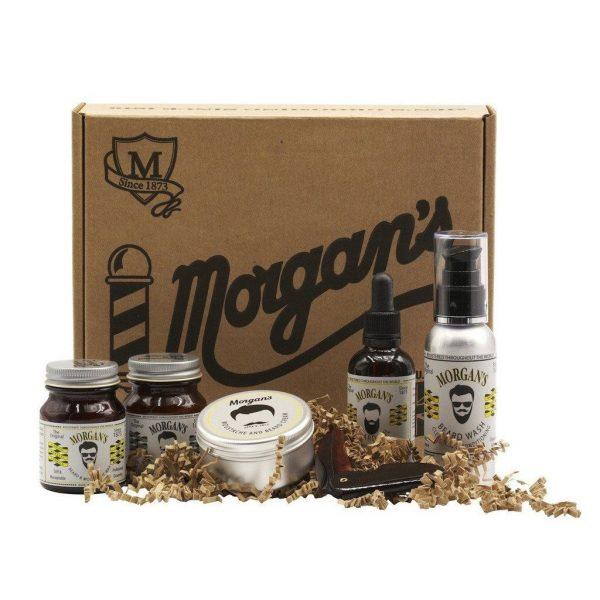 Morgans Moustache darčeková sada na bradu