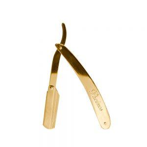Pacinos shavetta na holenie Swing Lock je pozlátená oceľová shavetta na holenie od jednej zo svetovo najlepších značiek pre chlapov Pacinos.