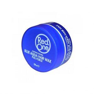 Red One Blue Aqua Hair Wax Full Force