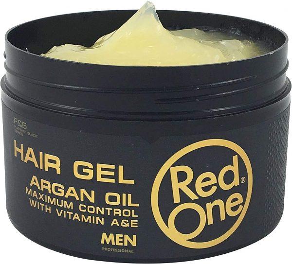 Red One Hair Gel Argan Oil, Gél Na Vlasy S Argánom 450ml 003
