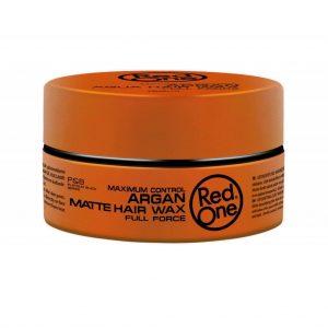 Red One Matte Hair Wax Argan