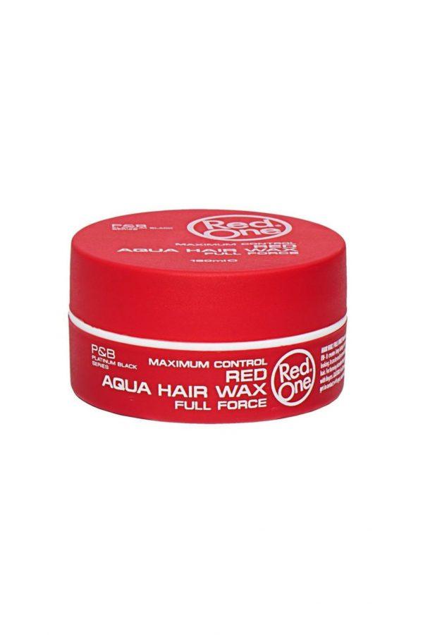 Red One Red Aqua Hair Wax Full Force