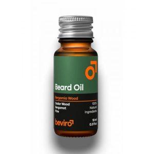Olej na fúzy Beviro Bergamia Wood sa stará o vašu bradu silou prírodných olejov a dodáva krásnu vôňu lesa. Obsahuje ryžový, mandľový, avokádový, jojobový a ricínový olej,