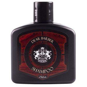 Dear Barber Shampoo je výživný šampón o objeme 250 ml s decentnou pánskou vôňou.