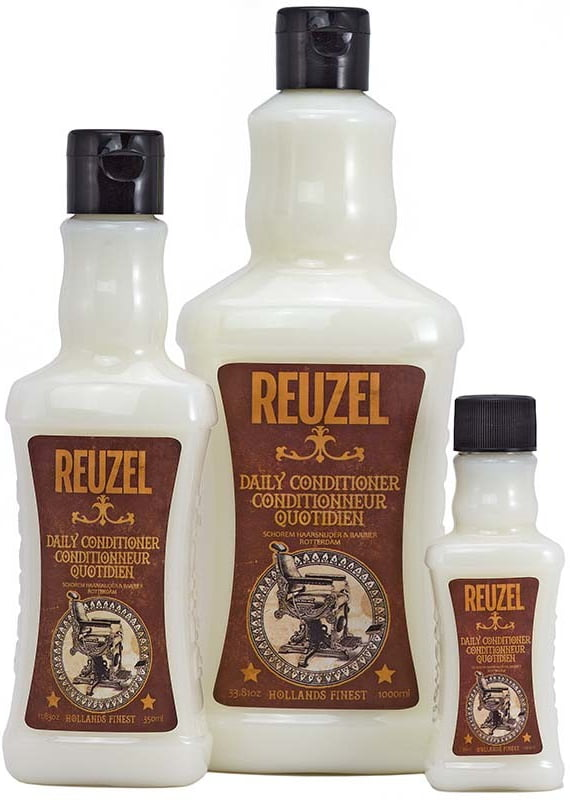 REUZEL Daily Conditioner efektívne čistí pokožku hlavy, dôkladne umýva vlasy a navracia im prirodzenú krásu.