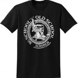 REUZEL Old School T-Shirt Black je čierne pánske tričko Reuzel s krátkym rukávom zo 100% bavlny.