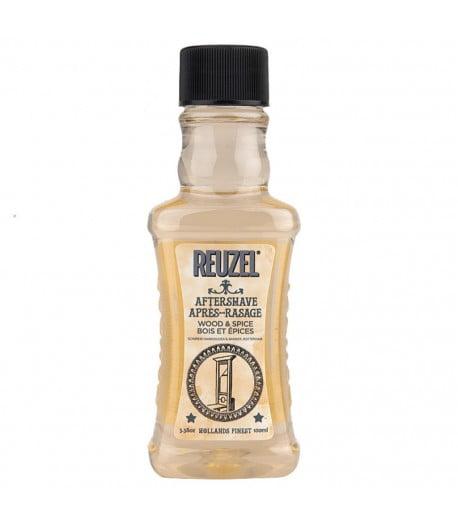 Voda po holení Reuzel Wood and Spice (100 ml) má mužnu, sviežu vôňu zo zmesi citrusov, cédrového dreva a klinčekov.