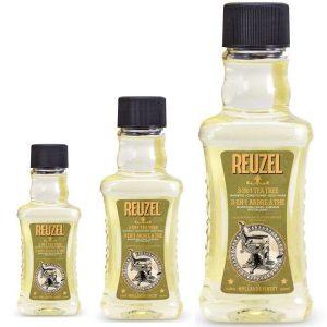REUZEL 3-in-1 Tea Tree Shampoo - čistí, stará sa o pokožku a dodáva vlasom potrebnú hydratáciu.