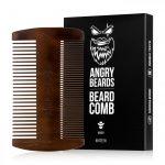 Angrybeard Drevený hrebeň na bradu