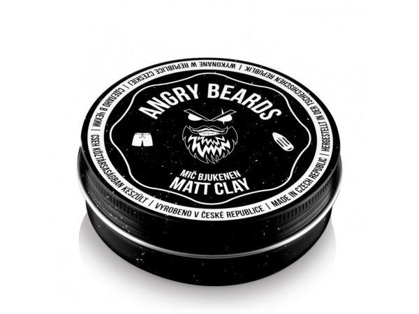 Angrybeard Biely íl na vlasy