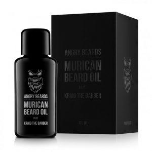 Angrybeard Murican olej na bradu a fúzy
