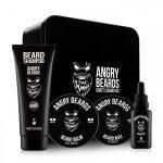 Angrybeard veľký set na bradu a fúzy Traveller